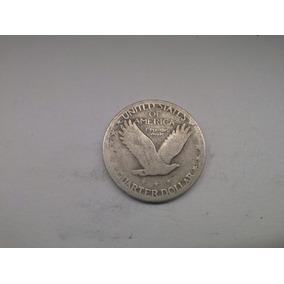 Moeda U.s.a Quarter Dollar 1928 Prata