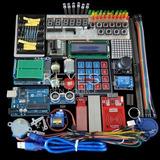 Kit Arduino Uno R3 Breadboard Y Soporte Del Motor De Paso