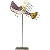 Kare Figura Decorativa Piranha 60 Cm (36778)