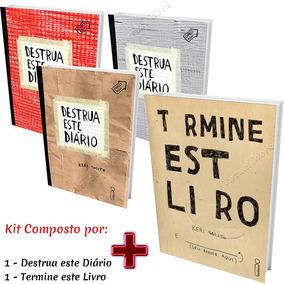 Kit 1 Destrua Esse Diário + 1termine Este Livro Frete Grátis