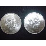 Un Peso Morelos 1948 O 1947 Plata Ley 0.500