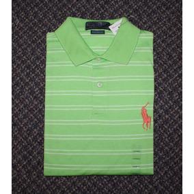 Camisa Polo Ralph Lauren Tamanho M Original Big Pony Malha 6dc56c7ebae