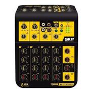 Mesa/mixer Skp Mix Connect 8 Mesa De Som 8 Canais Usb Outlet