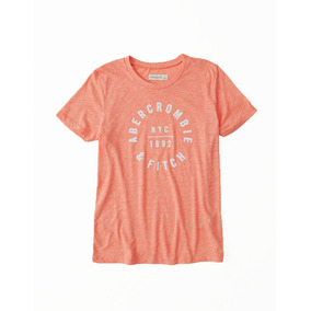 Remera Abercrombie & Fitch Original Mujer Talle M