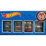 Carritos De Juguete Hot Wheels Con 50 Vehículos