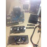 Combo Amd Fx 6300, 8gb Ram 2 Gpu Ddr5 Fuente De Poder Y Disc