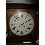 Antiguo Reloj Pared Pendulo The Ansonia Clock Usa Estacion