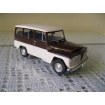 Miniatura Rural Willys 1/43 Carros Do Brasil