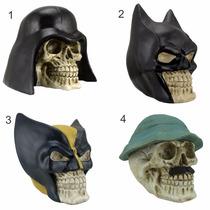 Crânio Caveira Darth Vader, Batman, Wolverine, Madruga