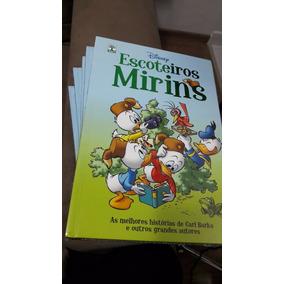 Quadrinho Disney Os Escoteiros Mirins Pato Donald Capa Dura