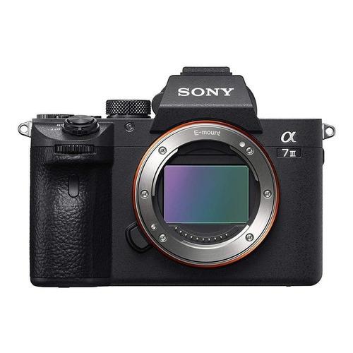 Sony Alpha 7 III sin espejo negra