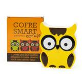 Cofre Smart Coruja Amarela - Digital