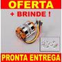 Motor Eletrico Turnigy D3548/4 1100kv Puxa Aero Com 2.150kg