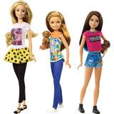 Barbie Family S! Irmas Com Pet Mattel Unidade