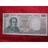 Chile 5000 Escudos Cano - Molina