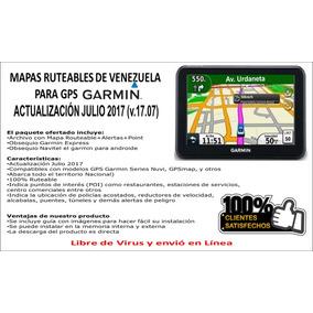 Mapa Ruteables Garmin Venezuela Ruteable Nt V17 07