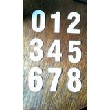 Molde Chapa Números Para Cortar Feltro - 8,5 Cm