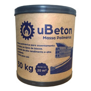 Ubeton Cola Bloco / Tijolo - 20 Un. De Barrica 30kg - 600kg