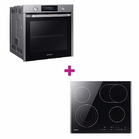 Combo Samsung Horno Dual Cook Anafe Touch Y Campana
