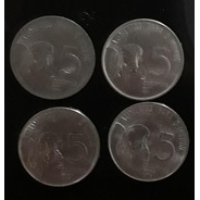 Set Moeda 5 Centavos 1975/1976/1977/1978 Fao
