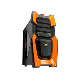Gabinete Cougar Challenger Mid Tower Orange Led Usb 3.0!!!