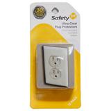 Protector Tomacorriente Transaparente Safety