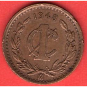Moneda De La Ii Guerra Mundial Un Centavo Laurel 1945 C12