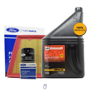 Kit 2 Filtros Aceite + Aire + Aceite 5w30 X 4 Lt Ford Fiesta