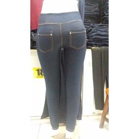 Calça Legging Imita Jeans Pano Grosso Super Promoção