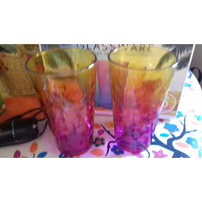 Vasos De Bicolores