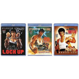 Pacote Especial Blu-rays: 2 Stallone + 1 Bruce Lee