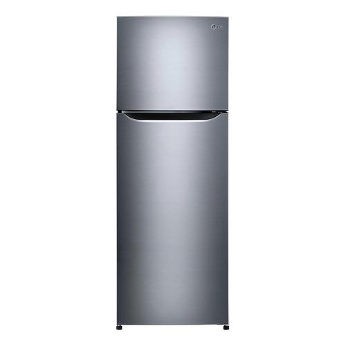 Heladera inverter no frost LG GT32BPP inox con freezer 312L 127V