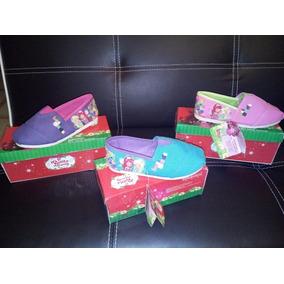 Zapatos Para Niña Toms De Rosita Fresita Talla 26 Al 32
