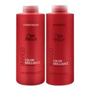 Wella Brilliance Invigo Shampoo + Condicionador Litro
