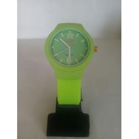Relógio adidas Verde Florescente Pulseira De Silicone