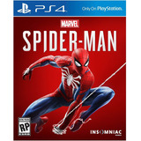 Spiderman Ps4 Fisico Sellado Original Marvel