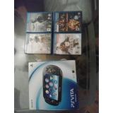 Psp Vita Como Nuevo Poco Uso+ 4 Juegos+ Memoria 8gb