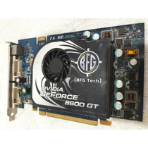 Placa De Vídeo Geforce 8600gt 256mb128-bit Gddr 3pci Card 10