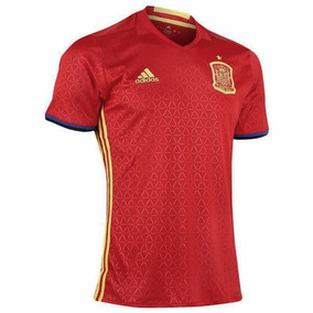 Playera España Local Uefa Euro 2016 Hombre adidas Ai4411