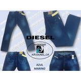 Jean Diesel Importados Azul Claro Y Azul Marino.