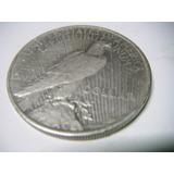 Un Dolar Peace Plata 1922 Ley 0.900 26.7 Gms 38mm