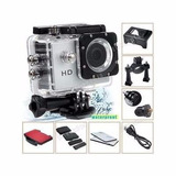Camara Para Casco Go Pro Sumergible 5mp Hd + Accesorios
