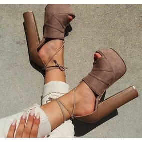 Hermosos Calzados Para Dama Tacones Sandalias Zapatillas Et