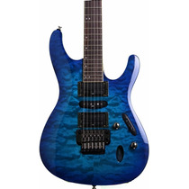 Ibanez S670 Qm-spb Guitarra Electrica Con Floyd
