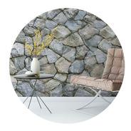 Papel De Parede Adesivo Pedras Rústicas Pr-30 - 23 Unidades