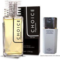 Perfume Choice Masculino 50 Ml (*) Fragrância Lapidus