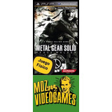 Metal Gear Solid Peace Walker - Psp - Físico - Mdz Videogame