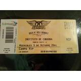 Vendo Entrada 5/10 Campo Vip Aerosmith (cordoba)