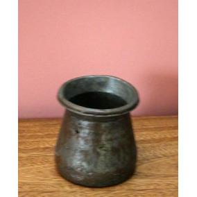 Antiguo Cacharro Cobre Estañado Persa - S/xix (160103)