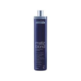 Emulsão Matizante Platinum Matizador Blond Maxiline 1.litro